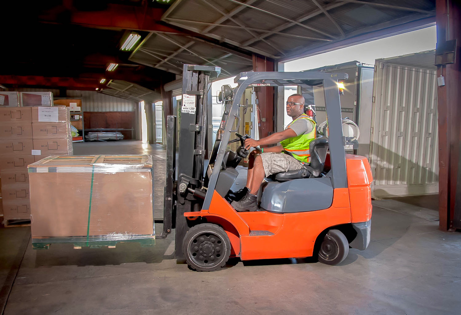 Lead Forklift Operator in Chicago IL